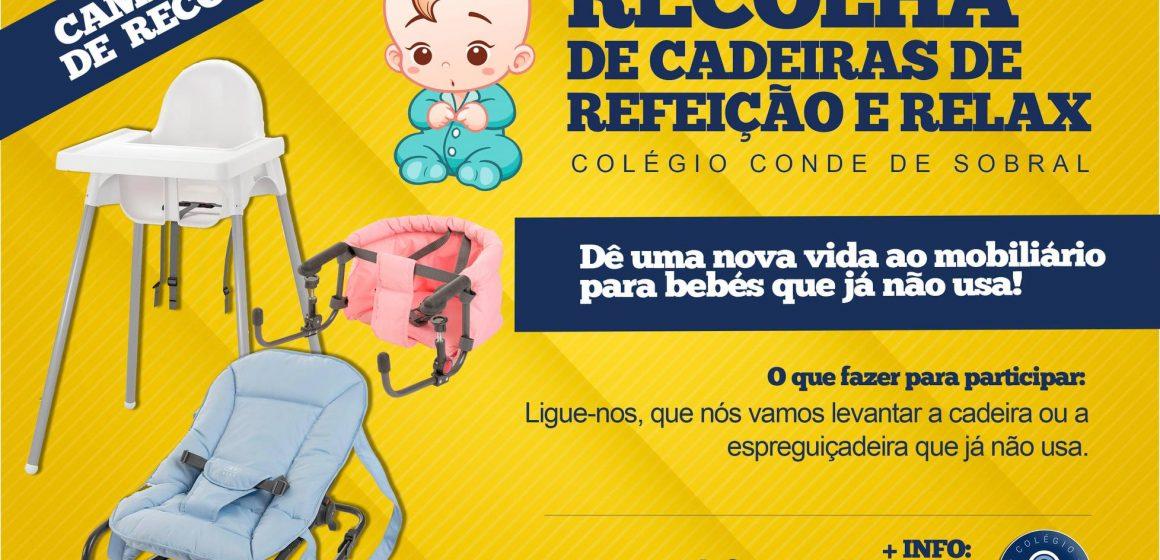 Colégio Conde de Sobral lança segunda campanha para ajudar crianças